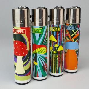 """Зажигалка Clipper """"Mushrooms"""" купить в Украине"""