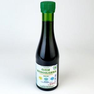 Конопляное масло (первый холодный отжим) 200ml купить в Украине