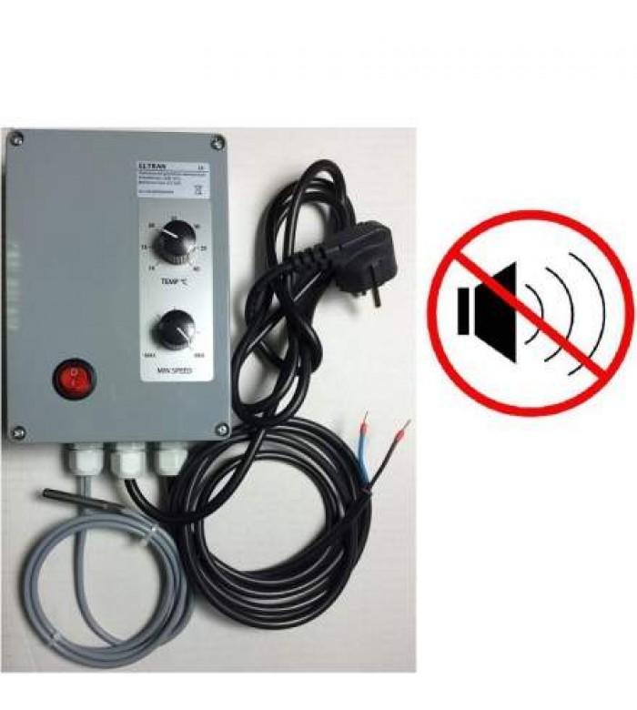 Контроллер скорости с датчиком температуры Super Quite Speed Controller купить в Украине