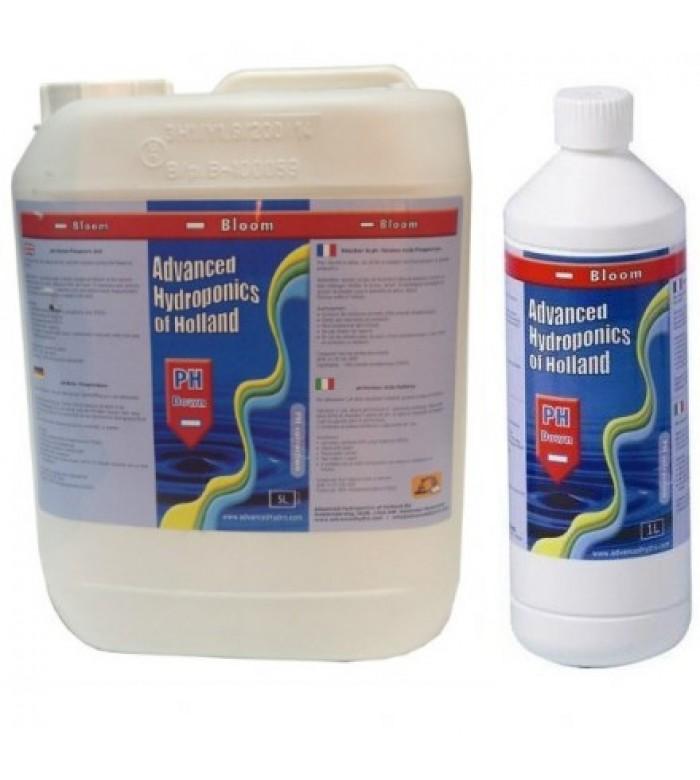 Advanced Hydroponics pH-Down Bloom концетрированный понизитель pH купить в Украине