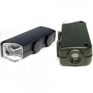 Микроскоп-фонарик карманный увеличение 60x-100x купить в Украине