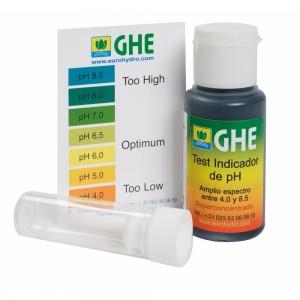 Жидкий индикатор pH test kit GHE купить в Украине