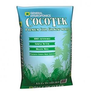 Готовый кокосовый субстрат CocoTek Premium Coir GHE 50 л купить в Украине