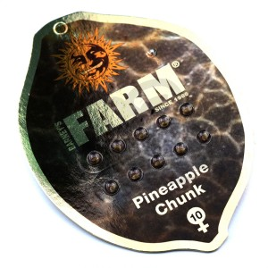 Pineapple Chunk Feminised купить в Украине